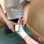 足首の固定