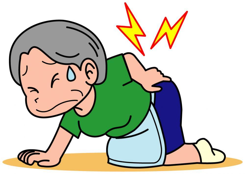 じっとしていても腰が痛い。もしかして圧迫骨折かも??